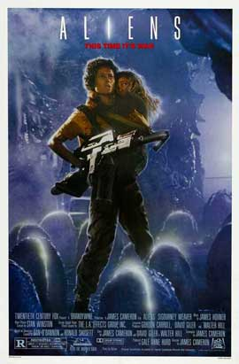 Aliens - 27 x 40 Movie Poster - Style B