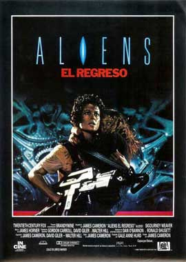 Aliens - 27 x 40 Movie Poster - Spanish Style A