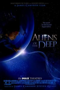 Aliens of the Deep - 11 x 17 Movie Poster - Style A