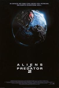 Aliens Vs. Predator: Requiem - 11 x 17 Movie Poster - Style B