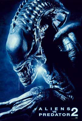 Aliens Vs. Predator: Requiem - 27 x 40 Movie Poster - Style D