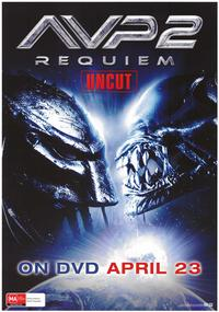 Aliens Vs. Predator: Requiem - 43 x 62 Movie Poster - Bus Shelter Style F