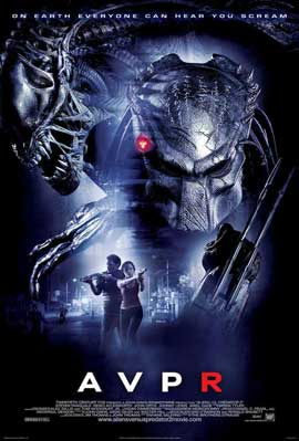 Aliens Vs. Predator: Requiem - 11 x 17 Movie Poster - Style J