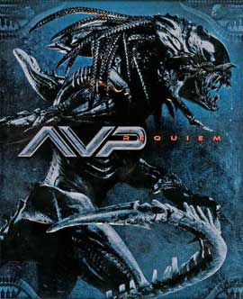 Aliens Vs. Predator: Requiem - 11 x 17 Movie Poster - Style K