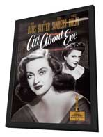 All About Eve - 11 x 17 Movie Poster - Style D - in Deluxe Wood Frame