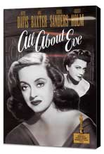 All About Eve - 11 x 17 Movie Poster - Style D - Museum Wrapped Canvas
