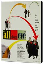 All About Eve - 27 x 40 Movie Poster - Style A - Museum Wrapped Canvas