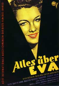 All About Eve - 27 x 40 Movie Poster - German Style A