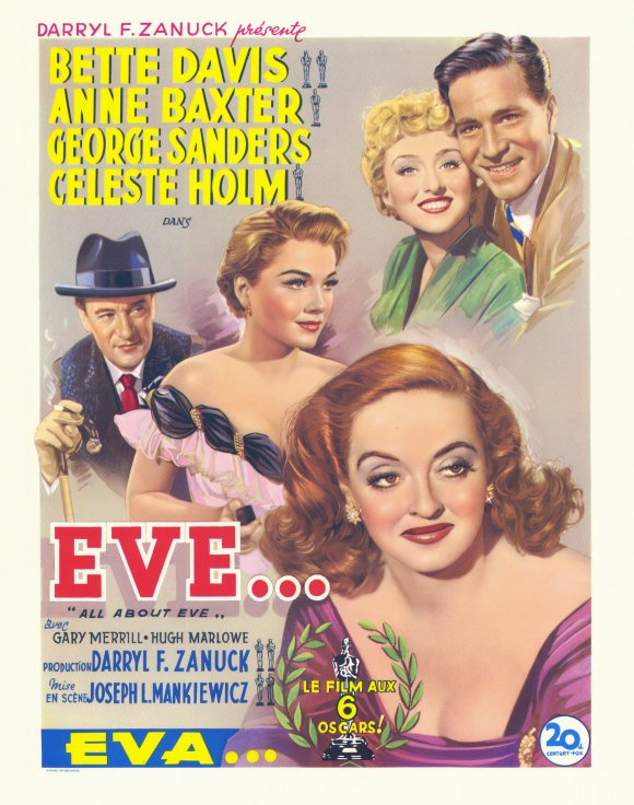 all about eve movie posters from movie poster shop. Black Bedroom Furniture Sets. Home Design Ideas