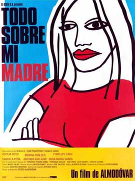 All About My Mother - 11 x 17 Movie Poster - Spanish Style A