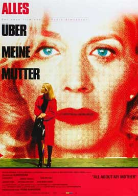 All About My Mother - 27 x 40 Movie Poster - German Style A
