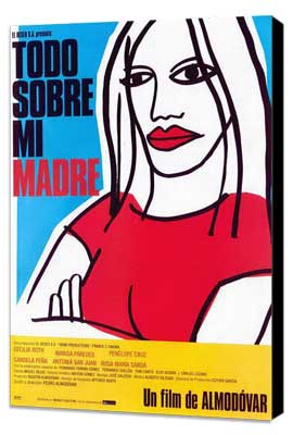 All About My Mother - 27 x 40 Movie Poster - Spanish Style A - Museum Wrapped Canvas