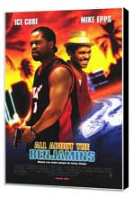 All About the Benjamins - 27 x 40 Movie Poster - Style A - Museum Wrapped Canvas