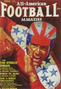 All-American Football Magazine (Pulp) - 11 x 17 Pulp Poster - Style A