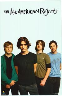 All American Rejects - Music Poster - 22 x 34 - Style A