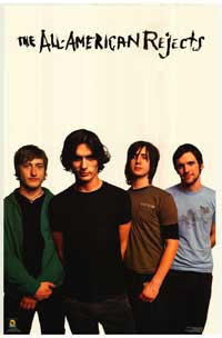 All American Rejects - Music Poster - 24 x 36 - Style G