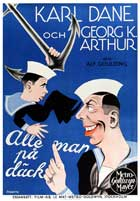 All at Sea - 27 x 40 Movie Poster - Danish Style A