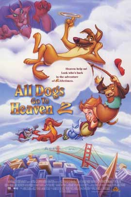 All Dogs Go to Heaven 2 - 11 x 17 Movie Poster - Style A