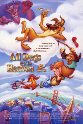 All Dogs Go to Heaven 2 - 27 x 40 Movie Poster - Style A