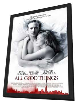 All Good Things - 11 x 17 Movie Poster - Style A - in Deluxe Wood Frame