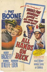 All Hands on Deck - 43 x 62 Movie Poster - Bus Shelter Style A
