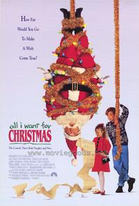 All I Want for Christmas - 43 x 62 Movie Poster - Bus Shelter Style A