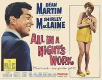 All in a Night's Work - 11 x 14 Movie Poster - Style A