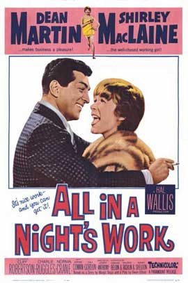 All in a Night's Work - 11 x 17 Movie Poster - Style A