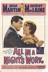 All in a Night's Work - 43 x 62 Movie Poster - Bus Shelter Style A