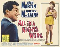 All in a Night's Work - 22 x 28 Movie Poster - Half Sheet Style A