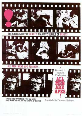 All Men Are Apes - 11 x 17 Movie Poster - Style A