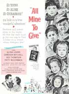All Mine to Give - 27 x 40 Movie Poster - Style B