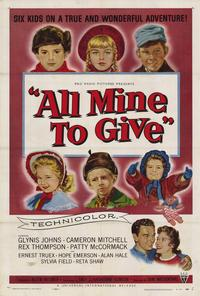 All Mine to Give - 27 x 40 Movie Poster - Style A