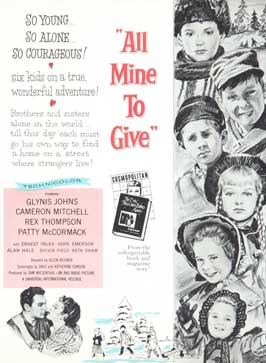 All Mine to Give - 11 x 17 Movie Poster - Style B