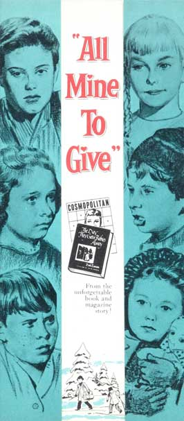 All Mine to Give - 20 x 40 Movie Poster - Style A