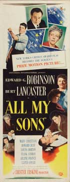 All My Sons - 14 x 36 Movie Poster - Insert Style A