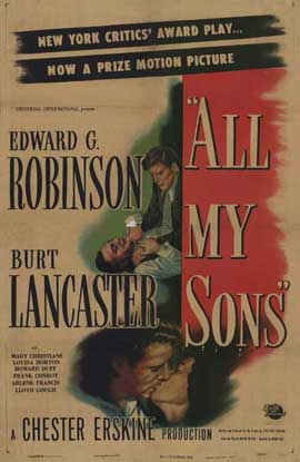 All My Sons - 11 x 17 Movie Poster - Style A