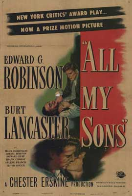 All My Sons - 27 x 40 Movie Poster - Style A