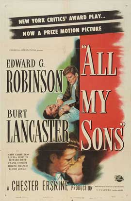 All My Sons - 11 x 17 Movie Poster - Style B
