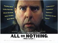 All or Nothing - 11 x 17 Movie Poster - Style A