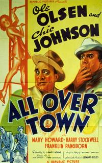 All Over Town - 27 x 40 Movie Poster - Style A