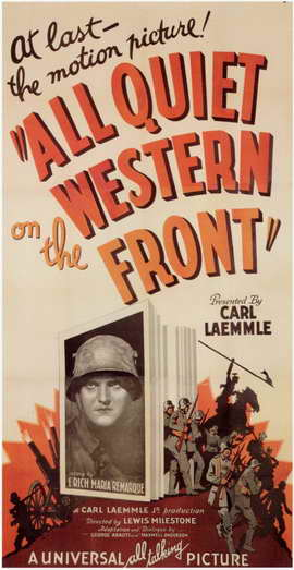 All Quiet on the Western Front - 11 x 17 Movie Poster - Style A