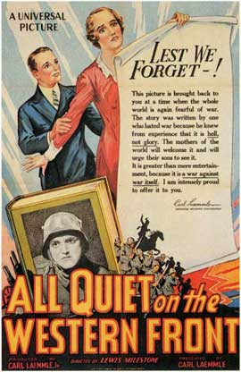 All Quiet on the Western Front - 11 x 17 Movie Poster - Style B