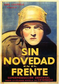 All Quiet on the Western Front - 11 x 17 Movie Poster - Spanish Style B