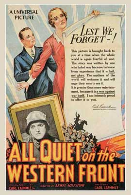 All Quiet on the Western Front - 27 x 40 Movie Poster