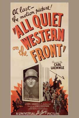 All Quiet on the Western Front - 27 x 40 Movie Poster - Style A
