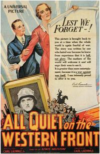 All Quiet on the Western Front - 43 x 62 Movie Poster - Bus Shelter Style A
