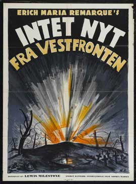 All Quiet on the Western Front - 11 x 17 Movie Poster - Danish Style A