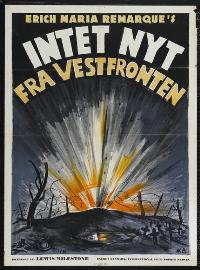 All Quiet on the Western Front - 43 x 62 Movie Poster - Danish Style A