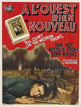 All Quiet on the Western Front - 11 x 17 Movie Poster - Belgian Style A